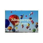 Albuquerque Rectangle Magnet