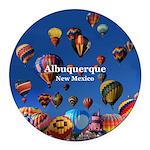 Albuquerque Round Car Magnet