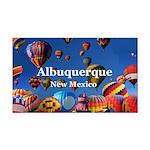 Albuquerque Rectangle Car Magnet