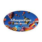 Albuquerque Oval Car Magnet
