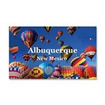 Albuquerque Car Magnet 20 x 12