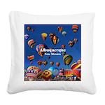 Albuquerque Square Canvas Pillow