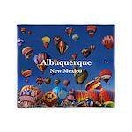 Albuquerque Throw Blanket