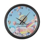 Albuquerque Large Wall Clock