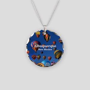 Albuquerque Necklace Circle Charm