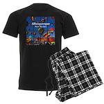 Albuquerque Men's Dark Pajamas