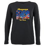 Albuquerque Plus Size Long Sleeve Tee