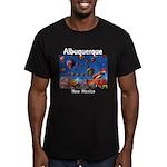 Albuquerque Men's Fitted T-Shirt (dark)