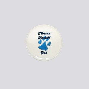 Tibetan Mastiff Dad3 Mini Button