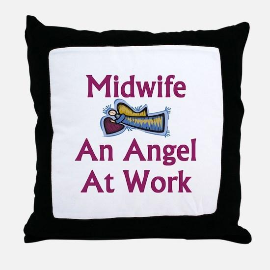 Midwife Throw Pillow