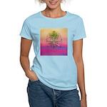 47.treeolife..? Women's Pink T-Shirt