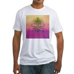 47.treeolife..? Fitted T-Shirt