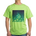 65.grampa'z skypeace.. Green T-Shirt