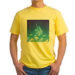 65.grampa'z skypeace.. Yellow T-Shirt