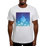 65.grampa'z skypeace.. Ash Grey T-Shirt