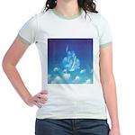65.grampa'z skypeace.. Jr. Ringer T-Shirt