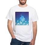 65.grampa'z skypeace.. White T-Shirt