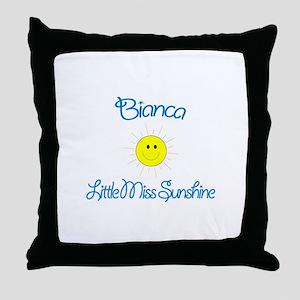 Bianca - Little Miss Sunshine Throw Pillow
