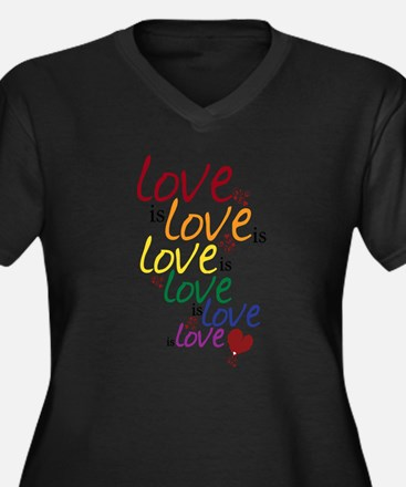 Love is Love (Gay Marriage) Plus Size T-Shirt