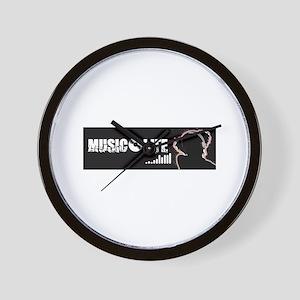 Music Life Wall Clock