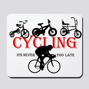 Cycling Cyclists Mousepad