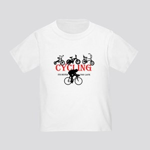 Cycling Cyclists Toddler T-Shirt