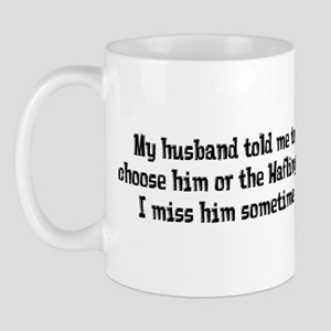 Husband or Haflinger Mug