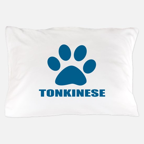 Tonkinese Cat Designs Pillow Case