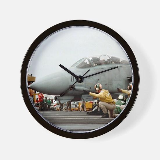 F14B Tomcat Wall Clock