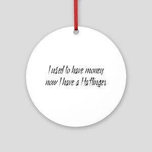 Money or Haflinger Ornament (Round)