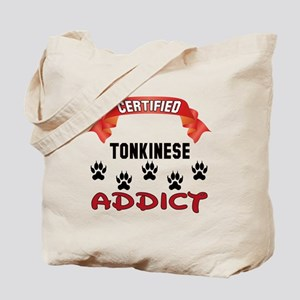 Certified Tonkinese Addict Tote Bag