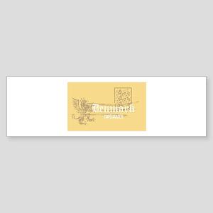 Gothic lion Bumper Sticker
