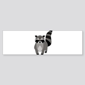 Rascally Raccoon Bumper Sticker