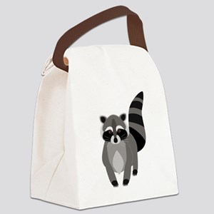 Rascally Raccoon Canvas Lunch Bag