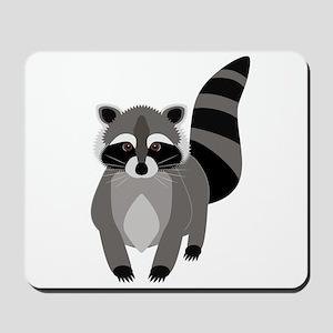 Rascally Raccoon Mousepad
