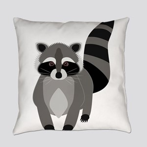 Rascally Raccoon Everyday Pillow