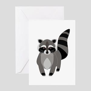 Rascally Raccoon Greeting Cards