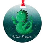 Personalised Wee Nessie From Scotland Ornament
