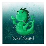 Personalised Wee Nessie From Scotland Square Car M