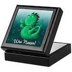 Personalised Wee Nessie From Scotland Keepsake Box