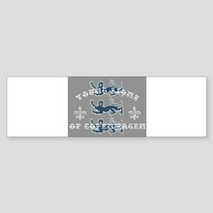 3 Lions Bumper Sticker