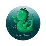 Personalised Wee Nessie From Scotland 3.5