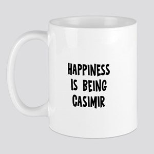 Happiness is being Casimir Mug