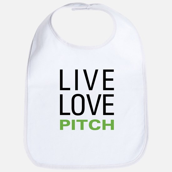Live Love Pitch Bib