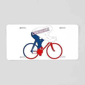 Czechia Cycling Aluminum License Plate
