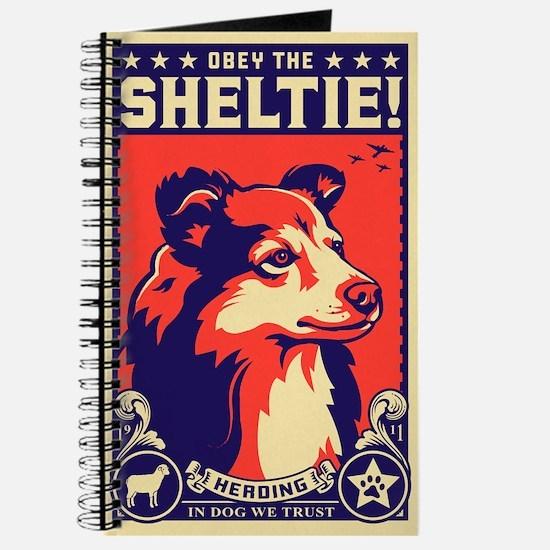 Obey the SHELTIE! World Domination Journal
