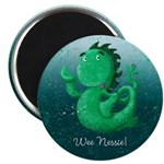 Personalisable Wee Scottish Nessie Magnets