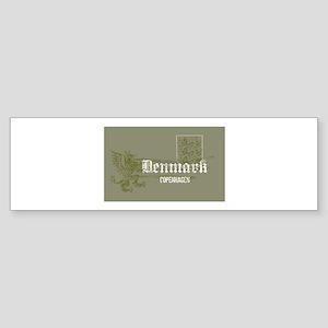 grey Gothic Bumper Sticker
