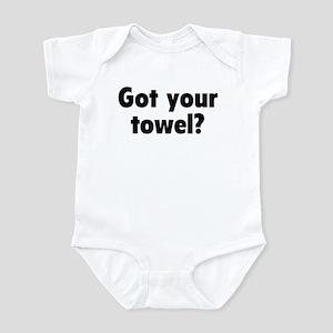 Got your towel? Infant Creeper