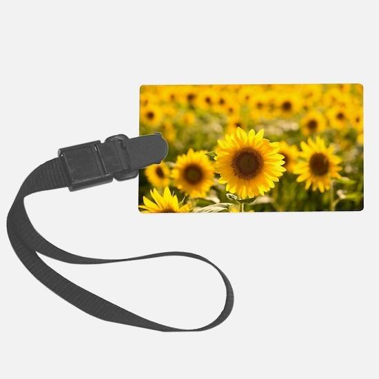 Cute Sunflower Luggage Tag